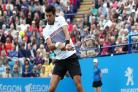 Novak Djokovic overcomes hiccup to book place in Eastbourne semi-finals