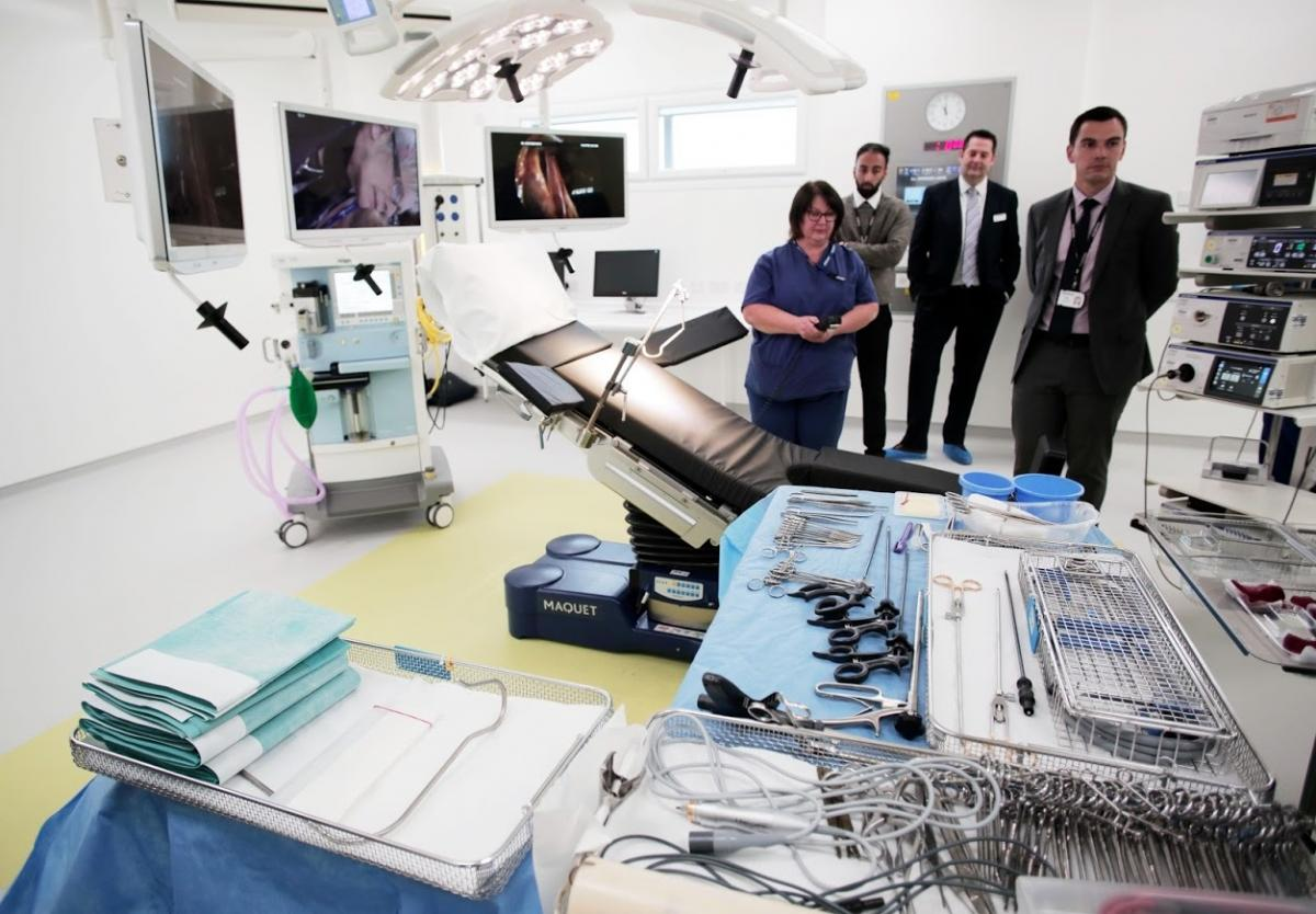 Six New Operating Theatres to Open at Darlington Memorial Hospital in £20m Investment
