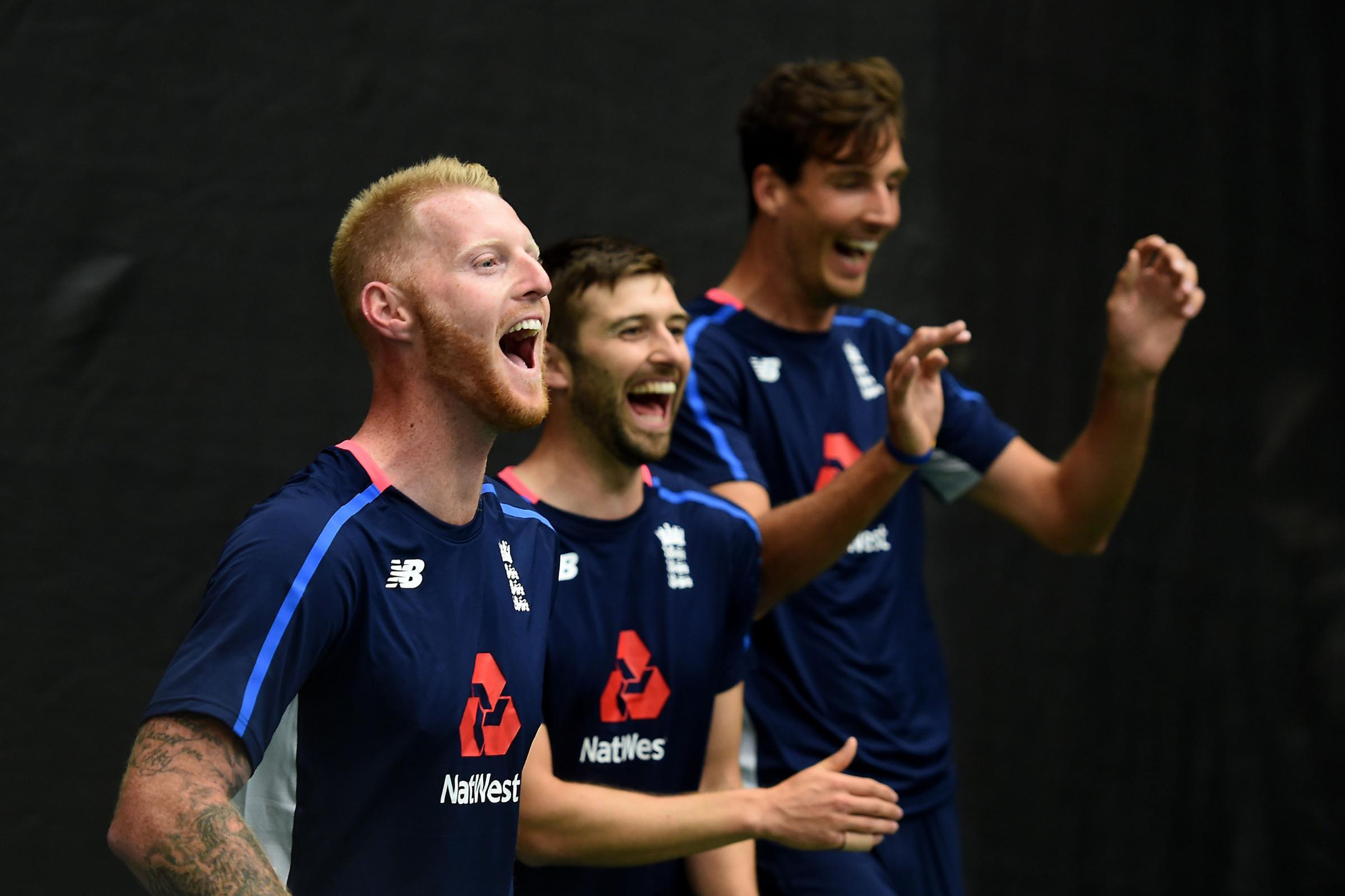 Riverside action: Ben Stokes and Mark Wood will hope to line up for England at Durham
