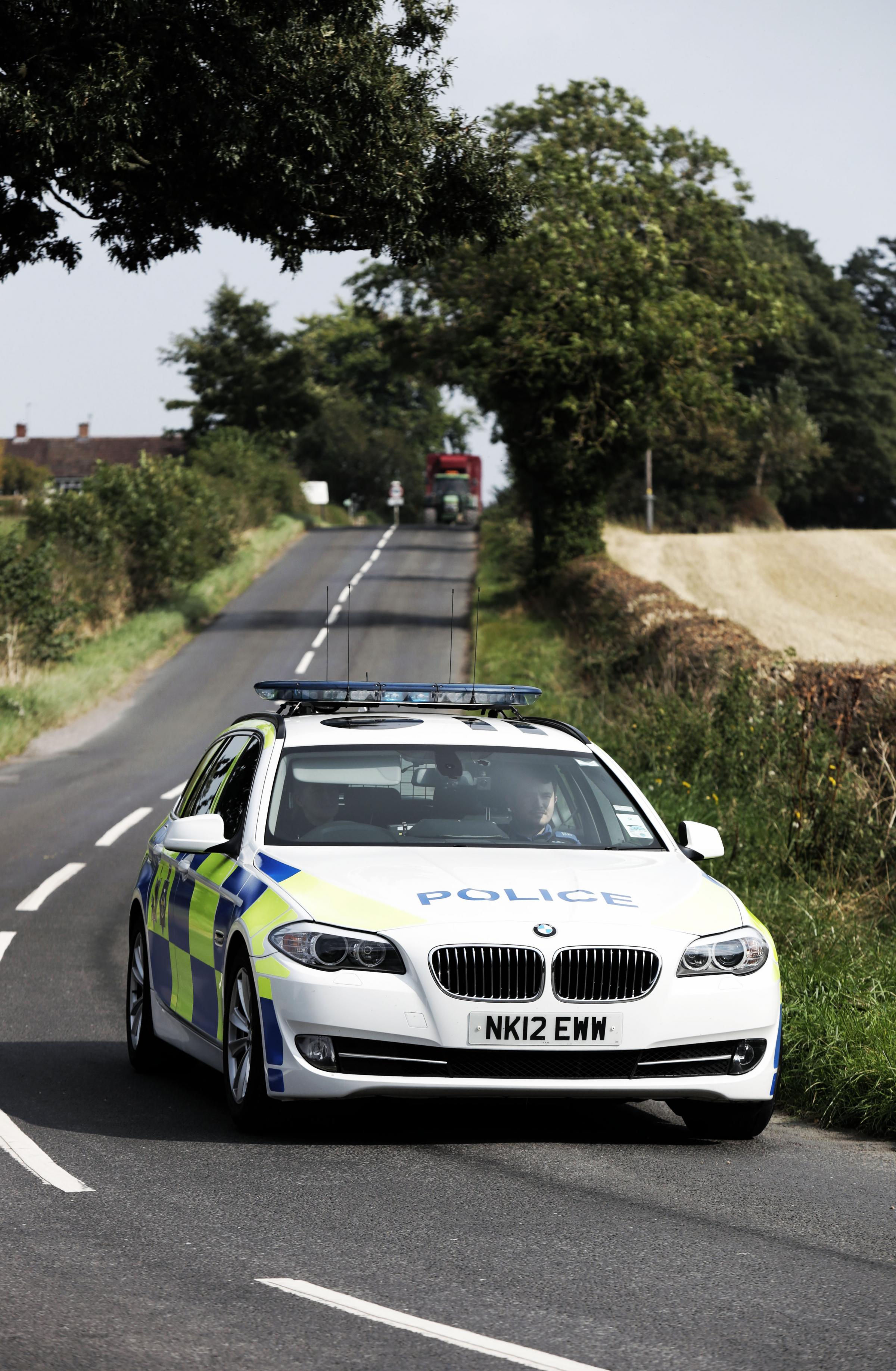 Police will be out in force Picture: STUART BOULTON.