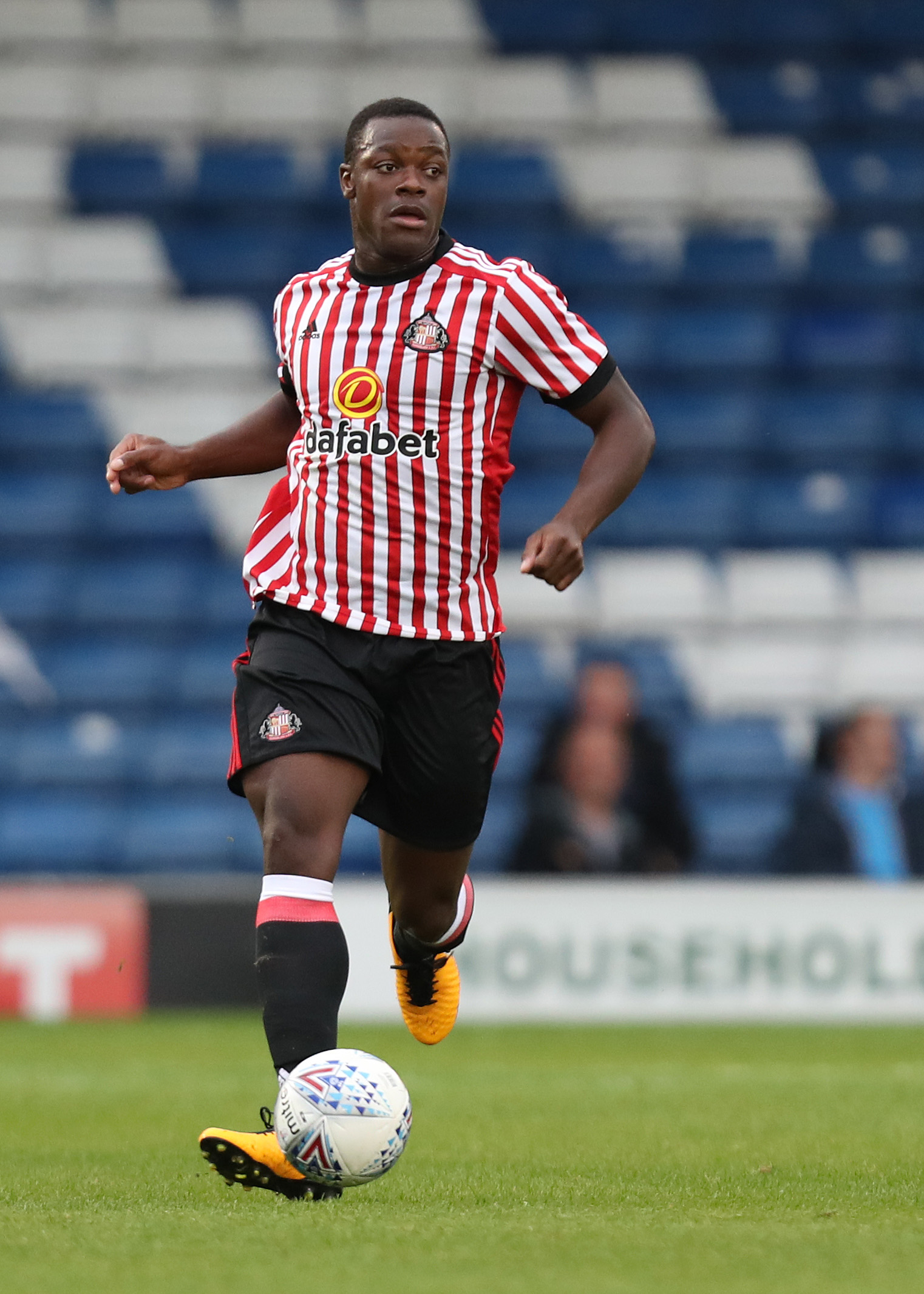 ON THE SIDELINES: Everton target Lamine Kone is nursing a long-term knee injury