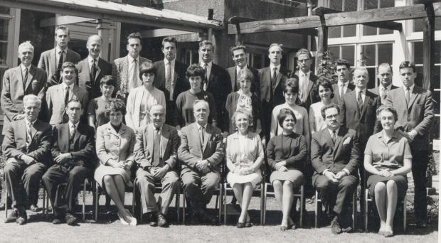 The Northern Echo: MANY WAYS: By 1965, when this staff photo, was taken, the school was called the Multilateral Unit Chester-le-Street Secondary School. The headteacher from 1959-71 was CFC Lawson, the son-in-law of Lord Lawson of Beamish, and other teachers pictured were N