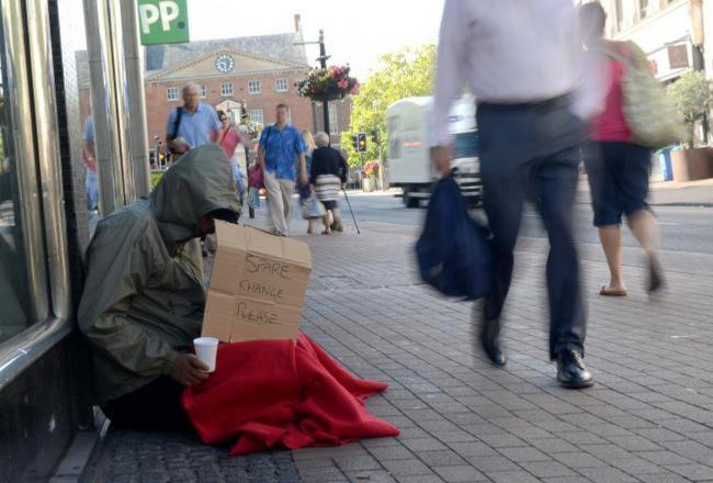 The Government should step in to tackle aggressive beggars, writes Chris Moncrieff