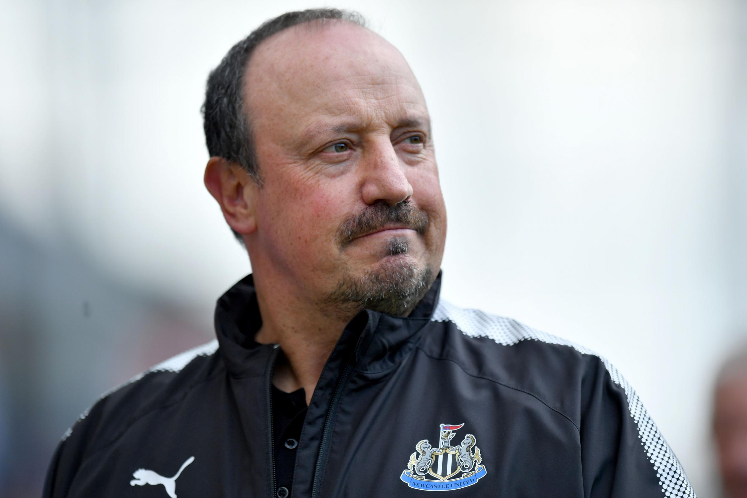 SAME AGAIN: Newcastle United boss Rafael Benitez