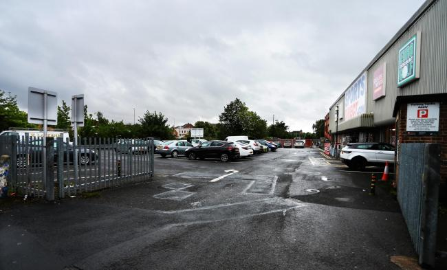 PARKING: Sports Direct car park Picture: SARAH CALDECOTT