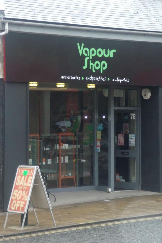 Trading Standards sent a young volunteer into the The Vapour Shop, on Front Street, Chester-le-Street, where the 33-year-old failed to ask for proof of age