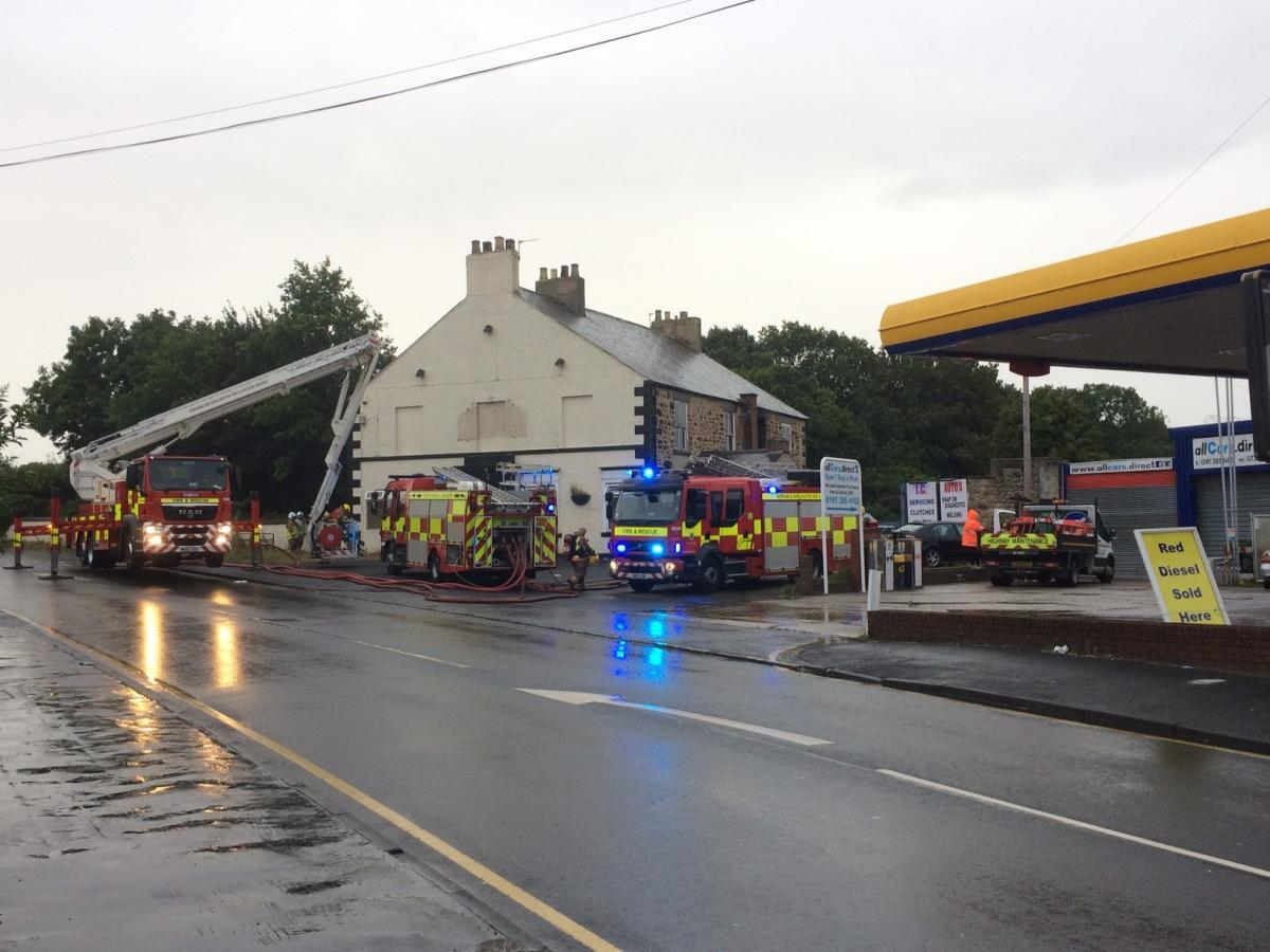 Police Could Be Called In Following Fire At Disused Village