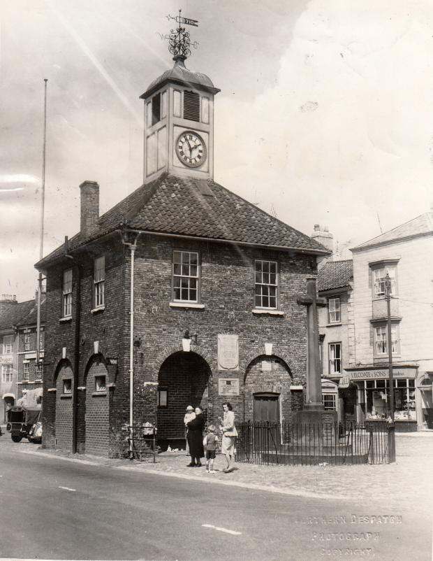 The Northern Echo: LOOKING NORTH: Yarm Town Hall is Dutch in style and was built in 1710, originally with open arches allowing access to market paraphernalia inside. In 1888, two arches were bricked up to house the town weighing machine, and in the 1930s, the others were fi