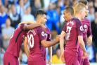 Sergio Aguero strikes as Manchester City spoil Brighton's Premier League debut