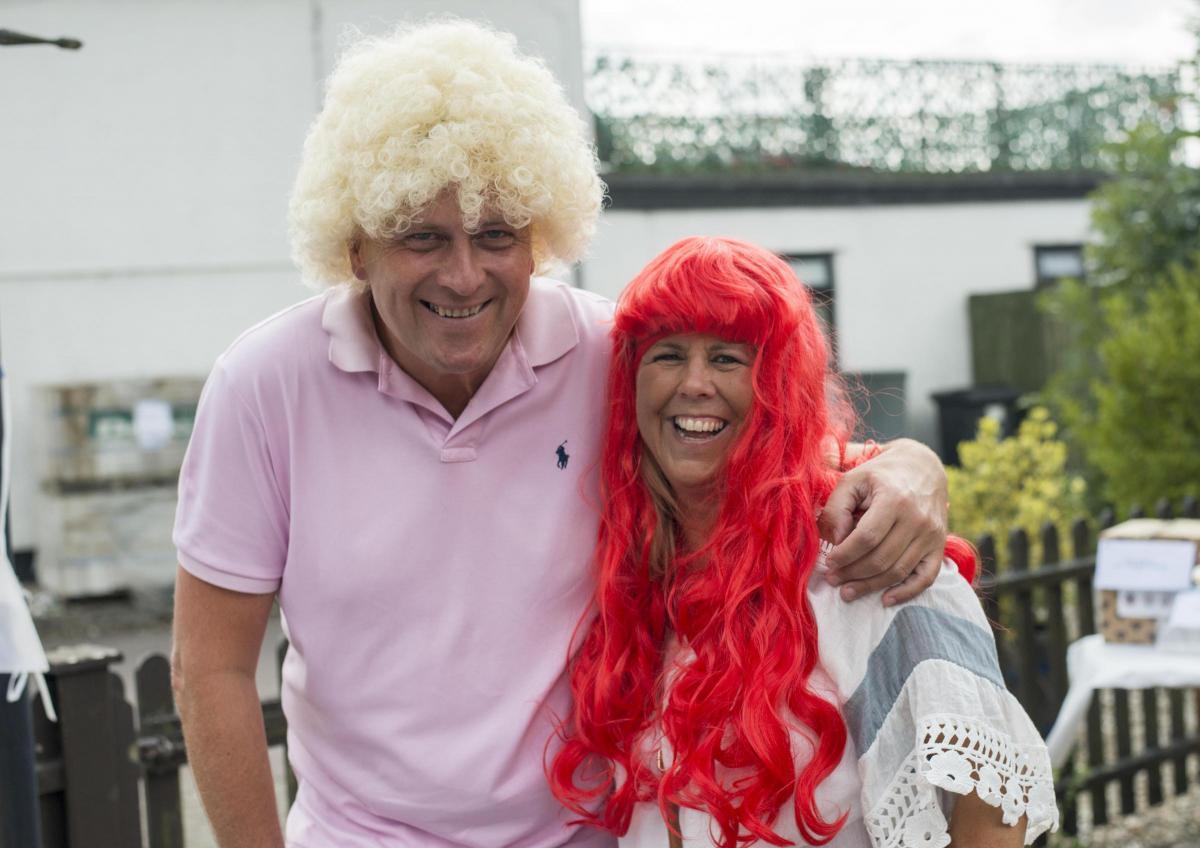 GALLERY  Wroughton pub hosts Wacky wig day to remember tragic Andraya 65a59efce806