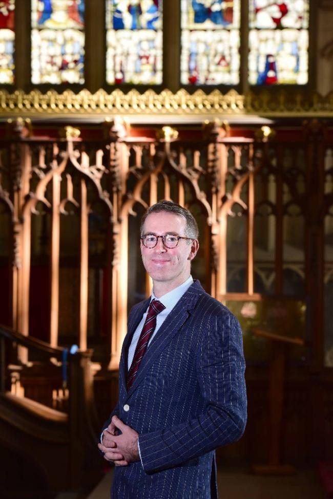 ROLE: Alex McCallion will oversee the maintenance, restoration and conservation of York Minster