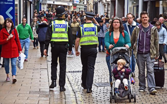 Police on the beat. Morale among police officers in the region has dropped amid increasing workloads and treatment of the police as a whole, a report has shown.