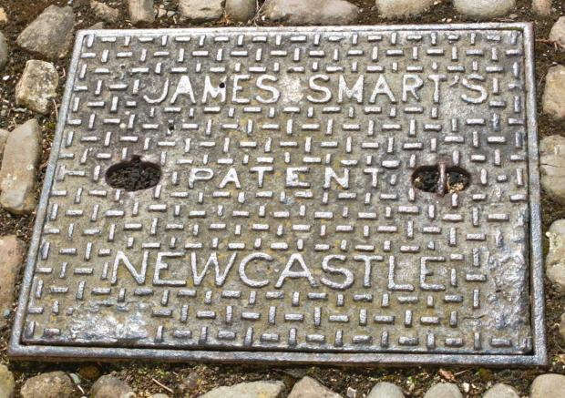 The Northern Echo: MAGNIFICENT MANHOLE: Only to be found at Raby Castle?