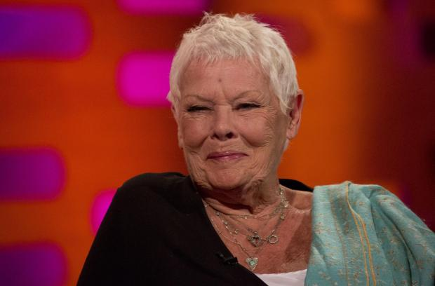 The Northern Echo: Dame Judi Dench, and such a good example. Picture: Isabel Infantes/PA Wire