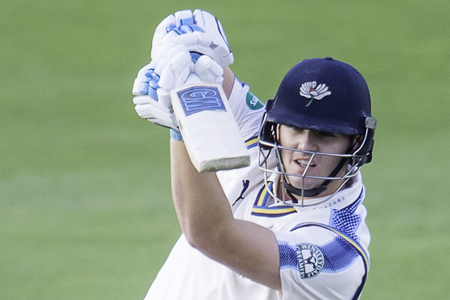 DURHAM BOUND: Durham have signed Yorkshire batsman Alex Lees