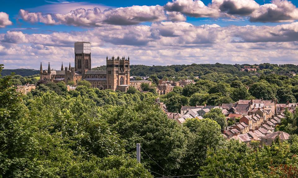 Durham City, photographed from Wharton Park Photo: MICHAEL ATKINSON