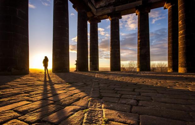 The Northern Echo: VIEW: A View From a Hill was taken at Penshaw Monument Picture: MICHAEL ATKINSON.