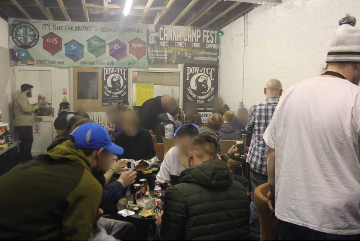 Inside the Teesside Cannabis Club, held in secret location on Teesside