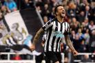 STARTING SPOT: Joselu is in the Newcastle United starting line-up that will take on Manchester City