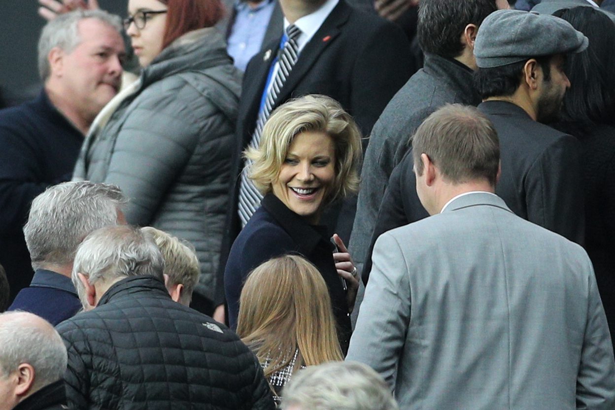 TAKEOVER HOPES: Amanda Staveley is still hoping to complete a successful takeover of Newcastle United
