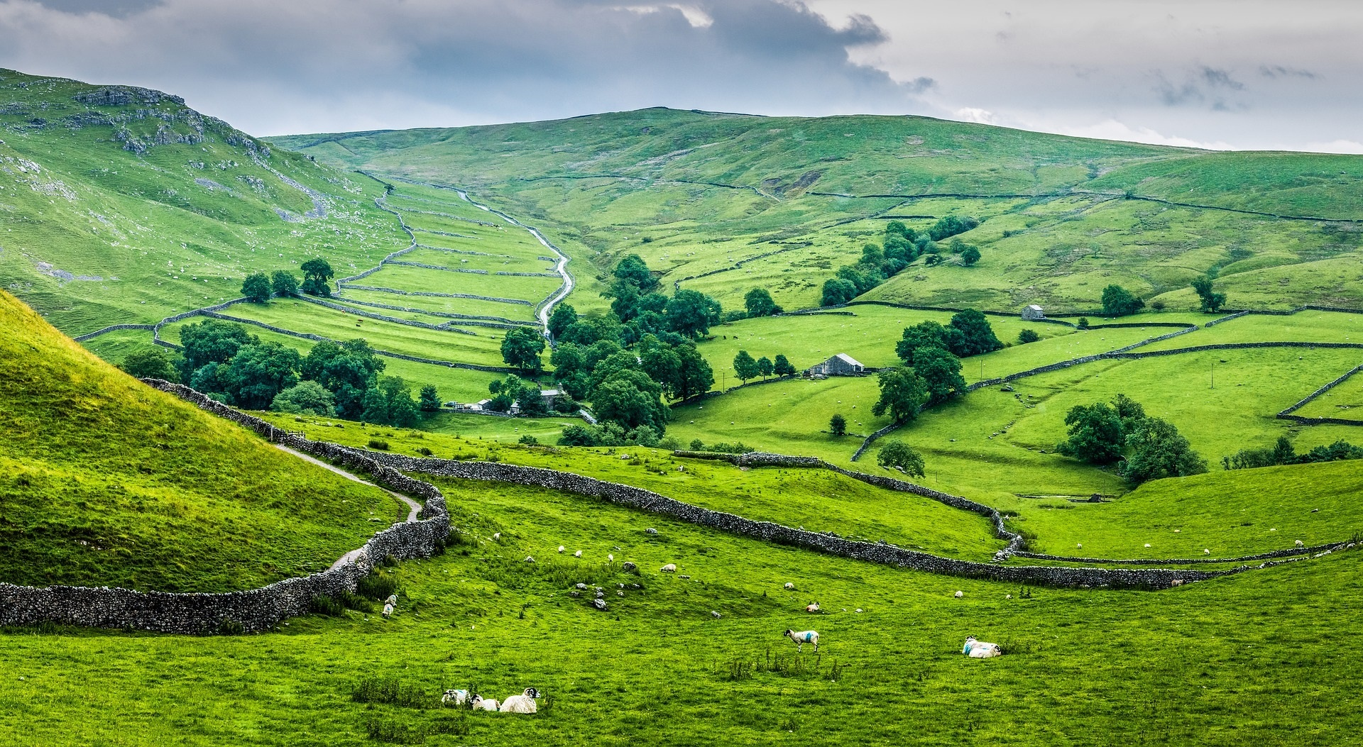 Yorkshire Dales countryside Picture PIXABAY