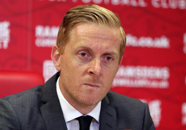LAYING DOWN THE LAW: Middlesbrough manager Garry Monk