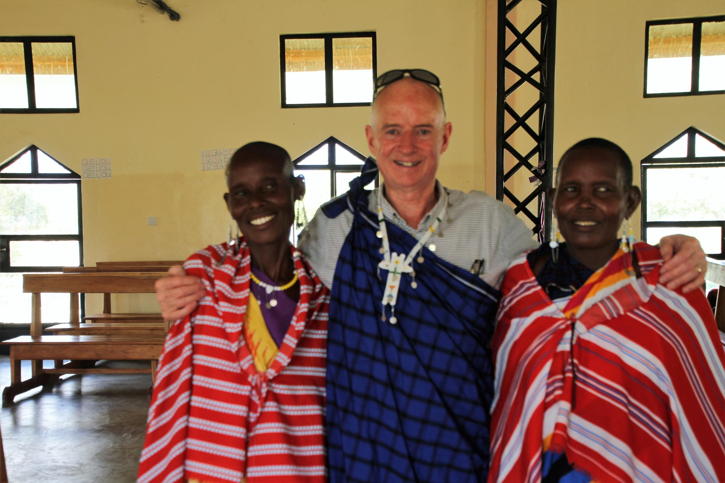 Jim O'Connor, from Esh Village, is returning to Tanzania with his charity Dorothy's Well Project Tanzania