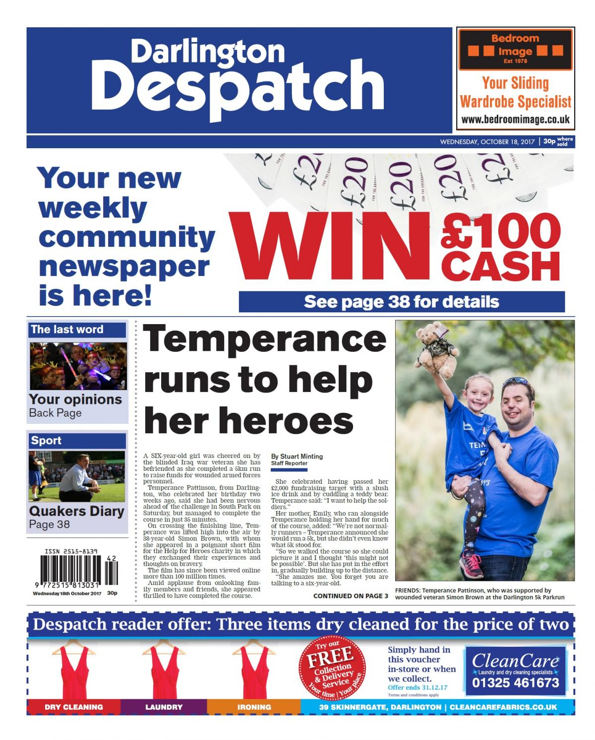 705fdfa9f02 Northern Echo launches new weekly newspaper in Darlington and South West  Durham