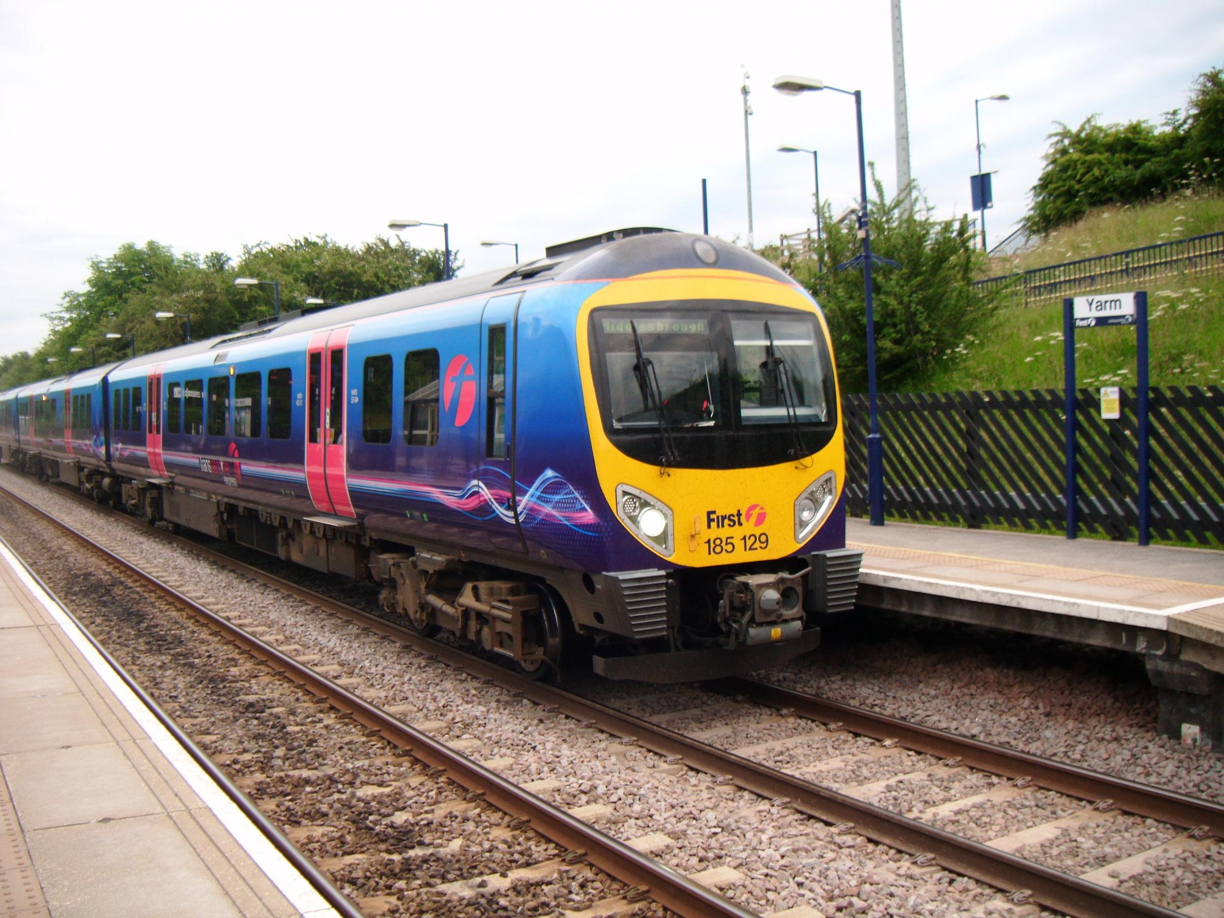 INCIDENT: The passenger fell ill on a TransPennine Express train.
