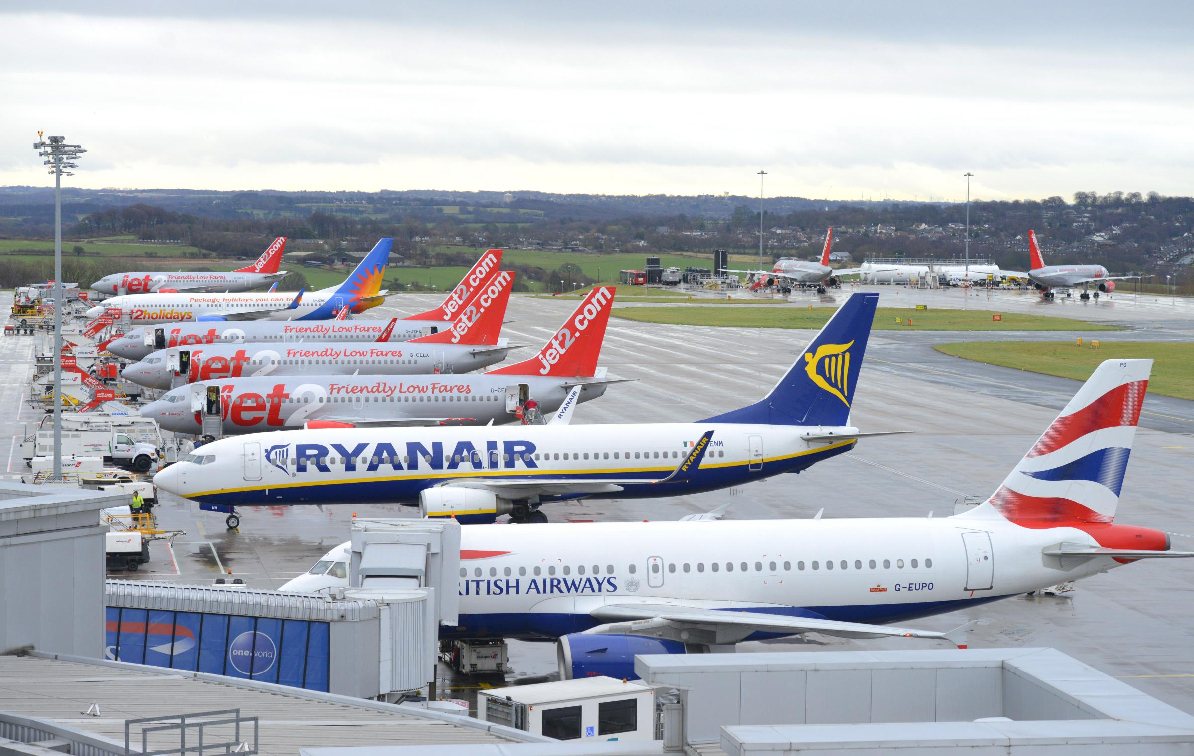 DEMAND: Leeds Bradford Airport has revealed record passenger numbers