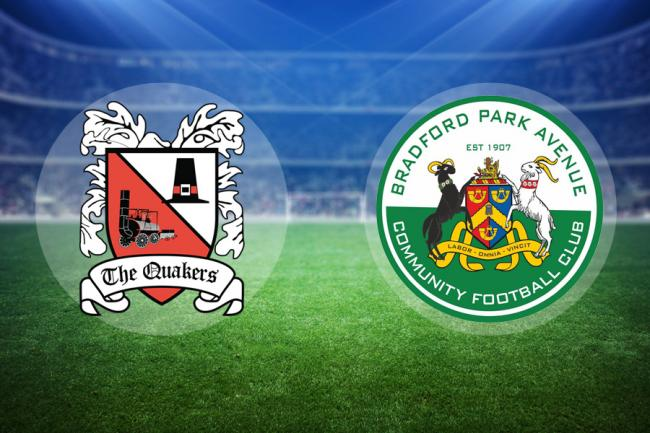 LIVE: Darlington v Bradford Park Avenue