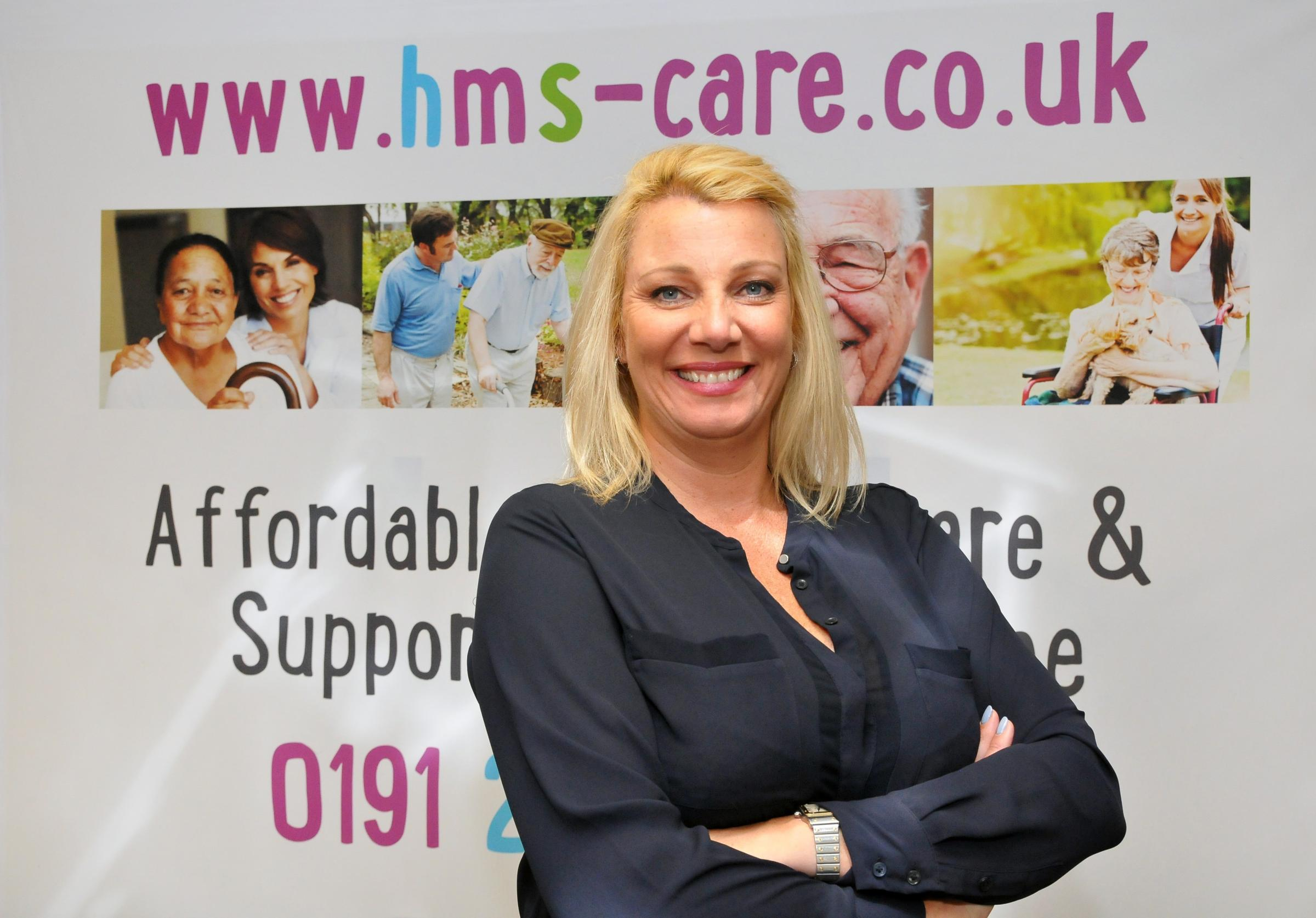 ENDEAVOUR: Sam Hackett, founder of HMS Care
