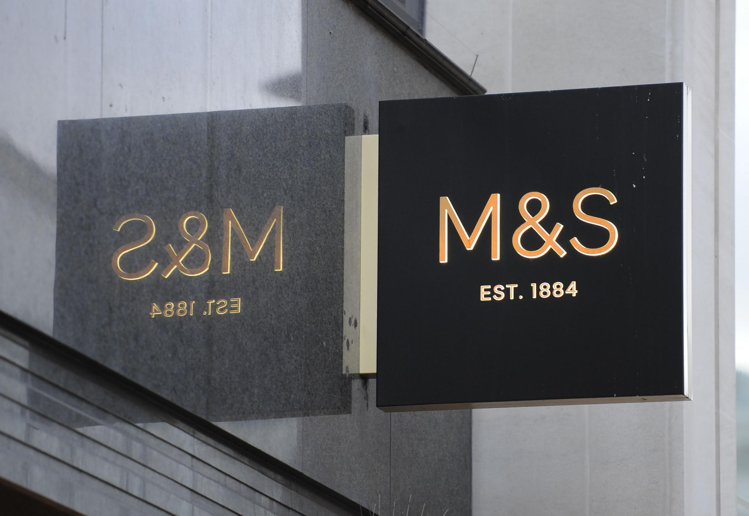 HIT: Analysts say M&S has more stores than it needs with clothes sales in particular having taken a hit in recent years. Picture: CHARLOTTE BALL/PA WIRE