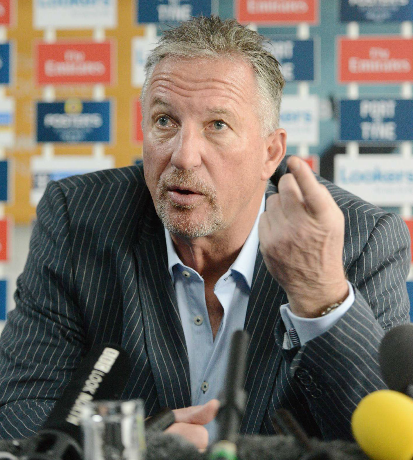 Sir Ian Botham is 'delighted' with the signing of Nathan Rimmington. Picture: NORTH NEWS