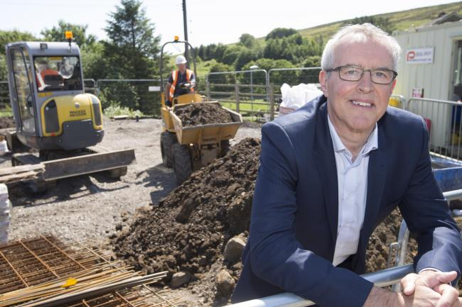 VISION: Bill Fullen, group chief executive at County Durham Housing Group