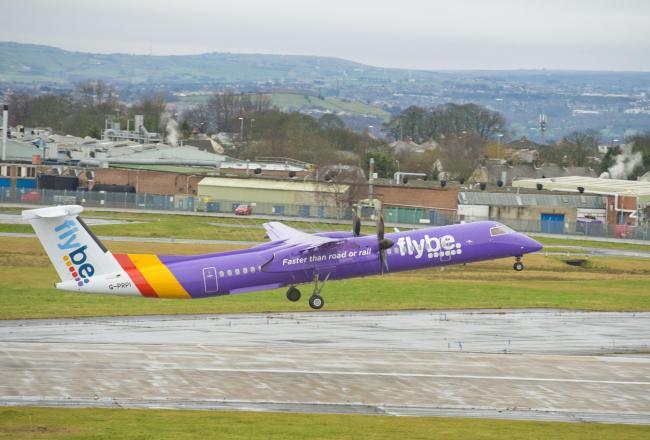 Leeds bradford airport starts flybe dusseldorf flights and hopes take off leeds bradford airport says its flybe dusseldorf flights are a sign of m4hsunfo