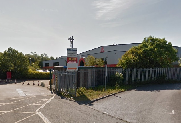 BASE: Axalta's Darlington factory, which is based off the town's Whessoe Road                   Picture: GOOGLE