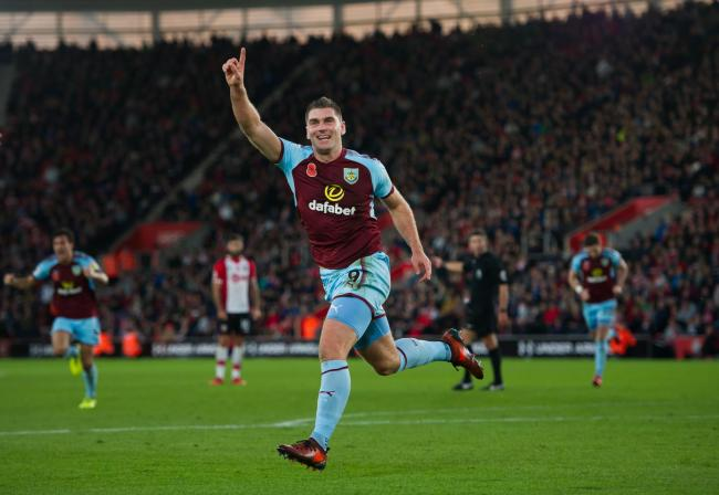 WANTED? Burnley's Sam Vokes