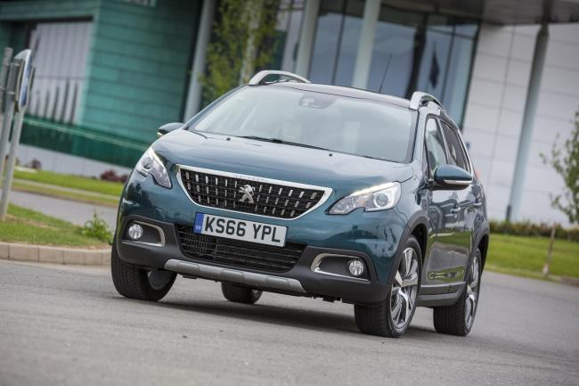 TOP OF THE PILE? Peugeot's 2008 mini SUV