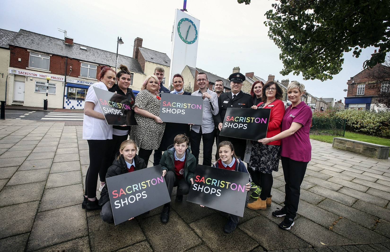 LAUNCH: The Sacriston Shops scheme aims to help village shops and businesses grow expand their customer base