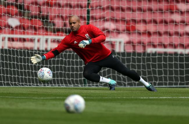 Darren Randolph is on the verge of completing a move from Middlesbrough to West Ham