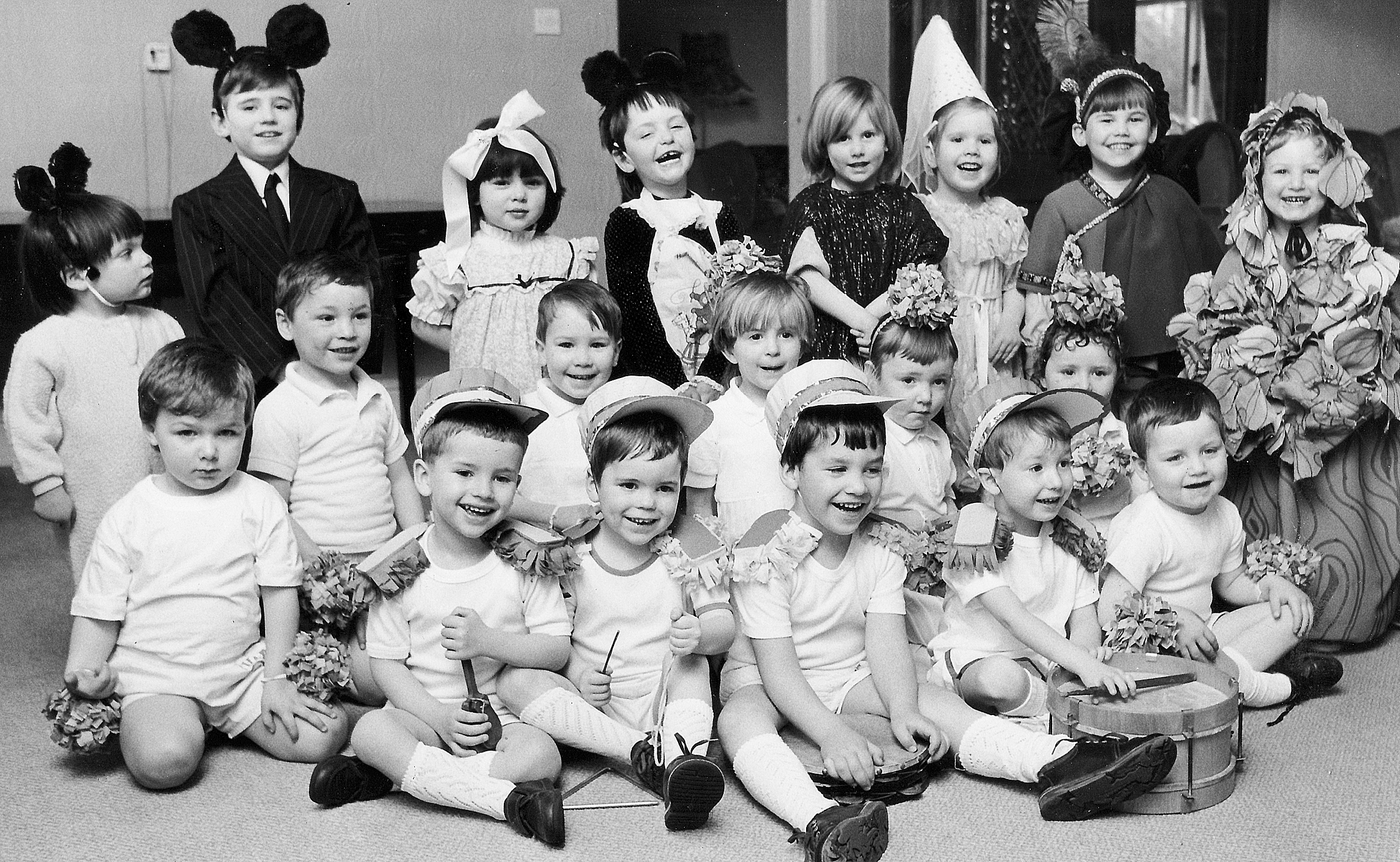 Children from a nursery class in March 1989. Picture: Bolton Evening News