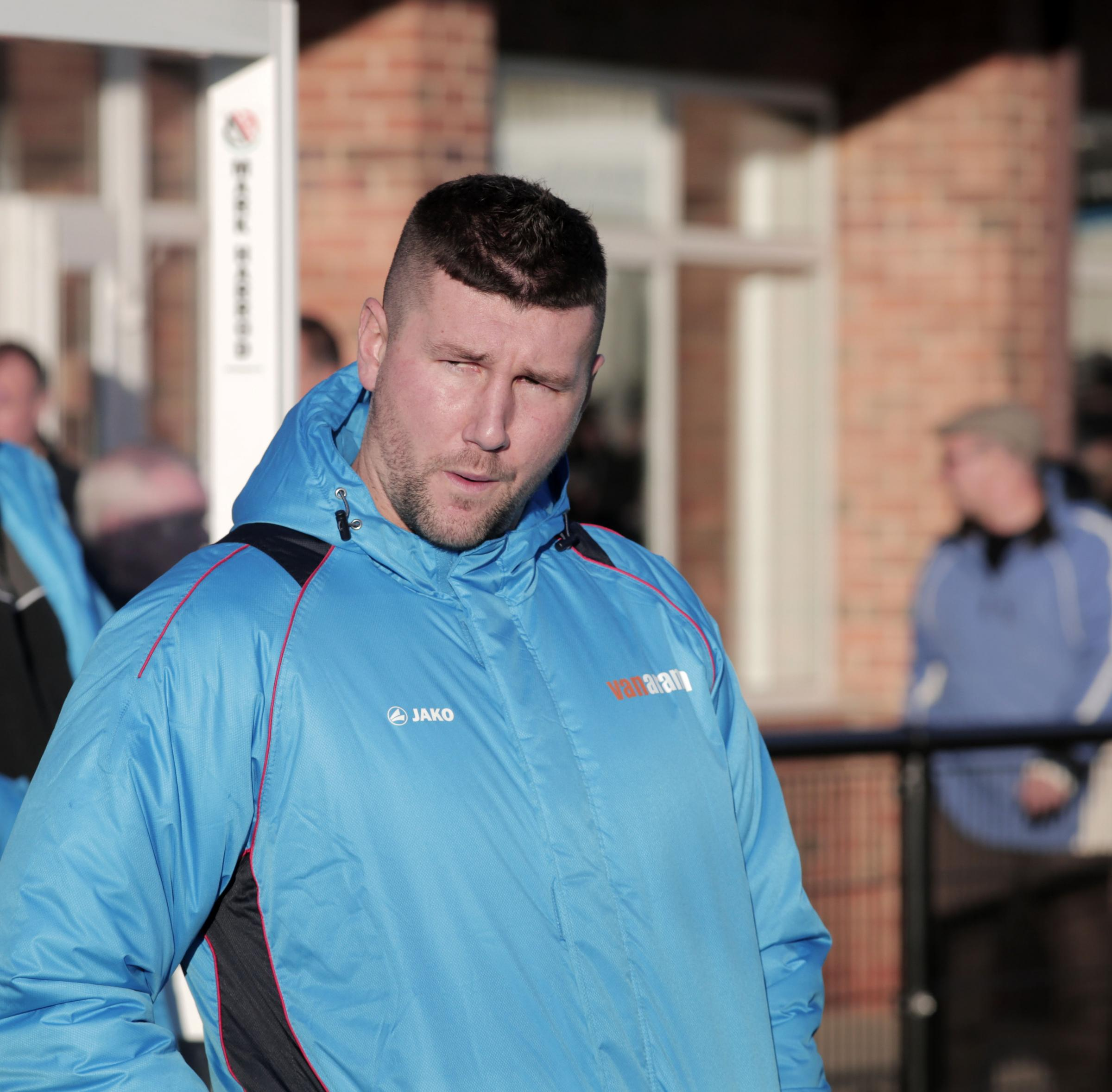 NEW SIGNINGS: Darlington manager Tommy Wright. Picture: STUART BOULTON