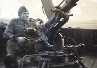 ELITE MEMBER: Josef Dagner manned guns which fired shells from France to England. His true reason for being in Calais was a dark secret