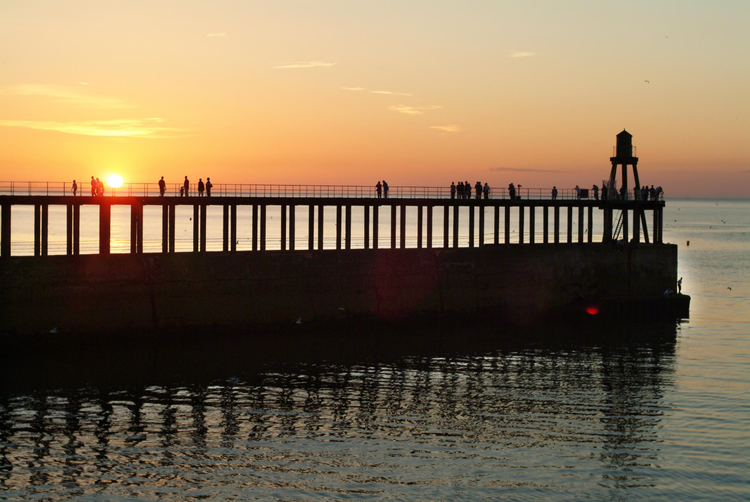 PROJECT: Whitby's piers are to undergo a major refurbishment