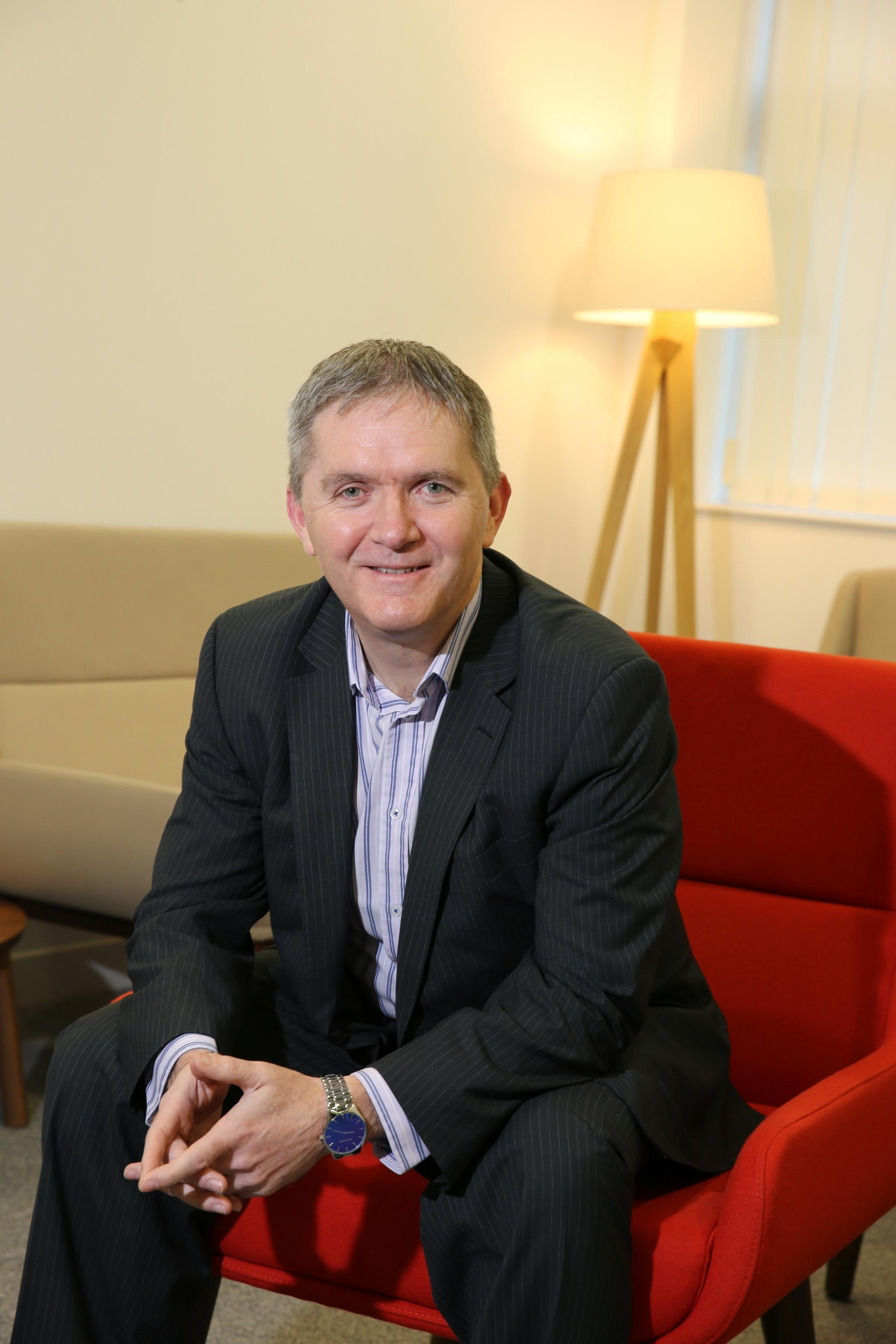 VOCATION: Paul Fiddaman, group chief executive of Karbon Homes.