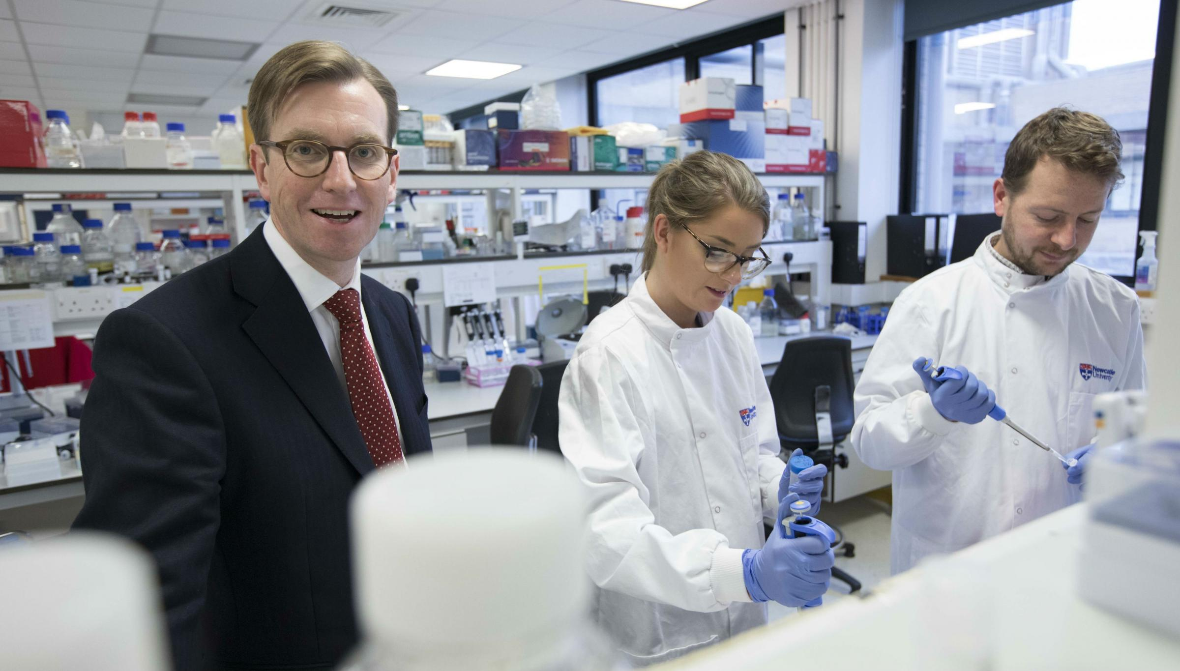 LEADING: Professor Quentin Anstee, from Newcastle University, is co-ordinating the study