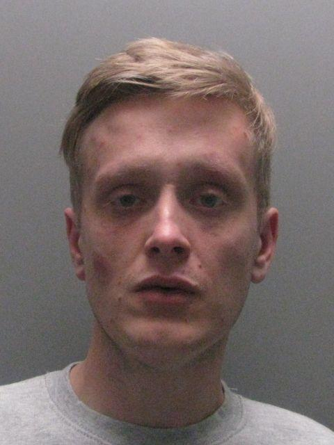 THREATS: Reece Luckett jailed for knife injuries inflicted on partner after threatening to stab himself