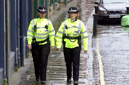 Police on patrol. A lack of policing on the streets is purely due to funding cuts says Cleveland Police and Crime Commissioner Barry Coppinger