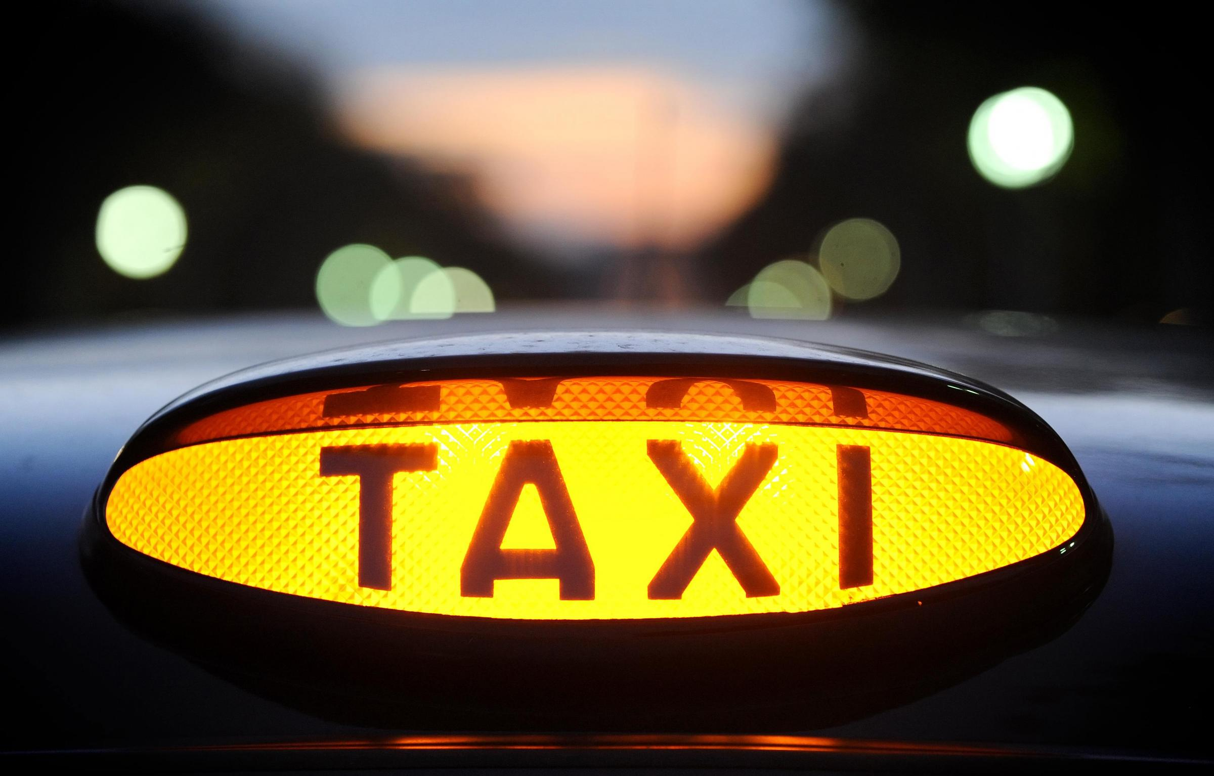 A North Yorkshire taxi driver has had his licence revoked after threatening to chop his daughter's legs up and boil her head in a pan